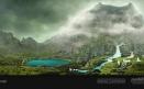 Green Volcano Concept Art #03