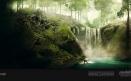 Green Volcano Concept Art #04