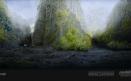 Green Volcano Concept Art #05
