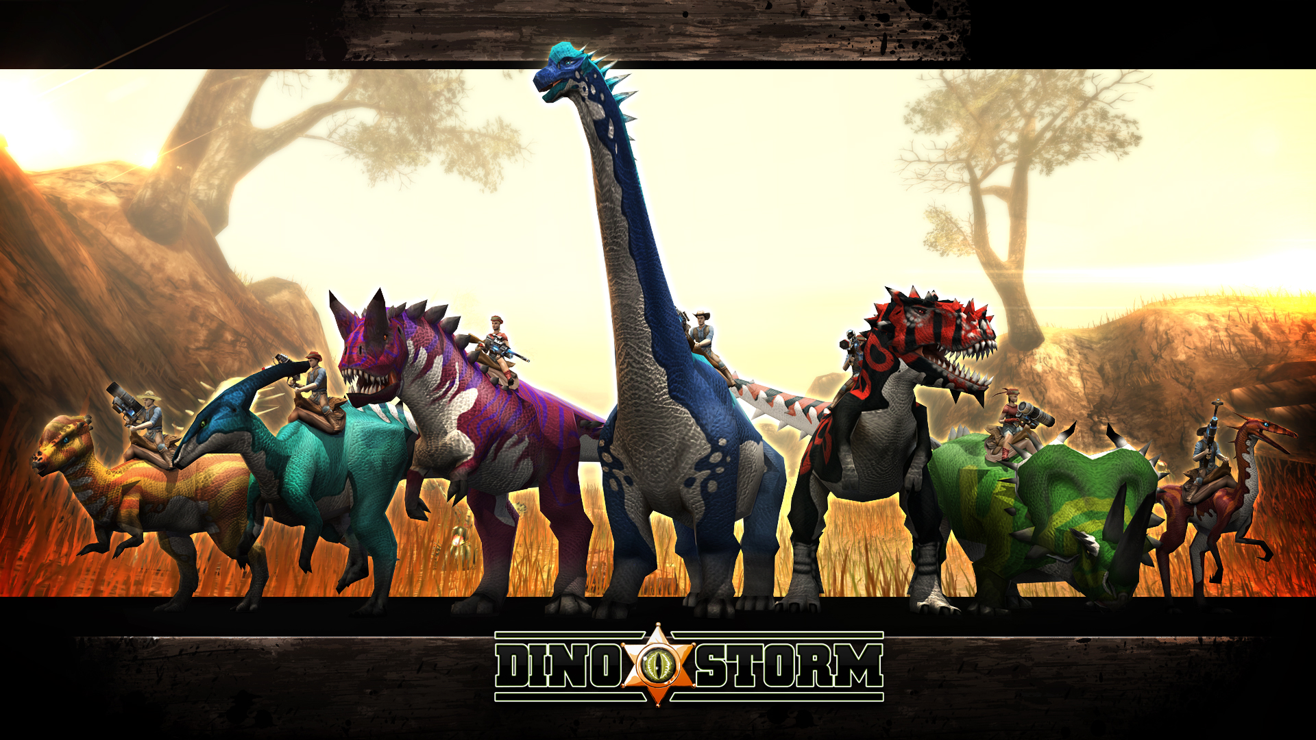 dino storm media wallpaper artwork screenshots more
