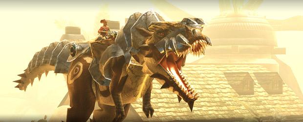"""Tyrannosaurus rex zählte zu den größten Landraubtieren, die unsere Erde je gesehen hat. Er lebte während der späten Kreidezeit, vor grob 66 Millionen Jahren. In Dino Storm ist der """"T-Rex"""" allerdings sehr lebendig und tödlich! […]"""