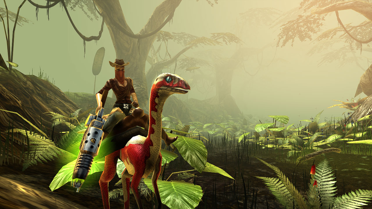 dino storm the online game with cowboys dinos laser guns