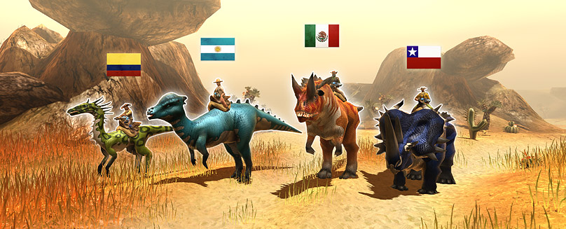 Finally we can offer the complete world of Dino Storm to all Spanish speaking dinosaur fans in their mother tongue as well. The whole game and the website dinostorm.com are now available to you in fully translated […]