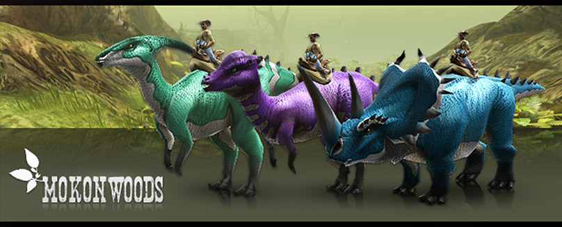 Today we have a huge bag filled with presents for you: Get ready for an exciting new zone and saddle no less than three additional dinosaur types! New Zone: Mokon Woods We are incredibly excited...