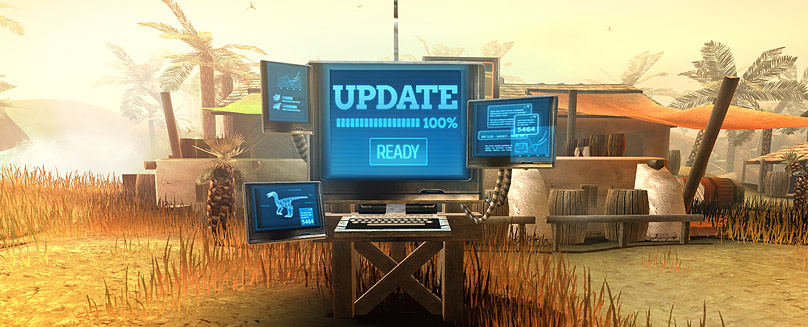 "Improvements Made preparations for the upcoming ""Easter in Dino Storm"" event. Improvements to the in-game chat New default chat channel: ""Global"" can be used from all zones on the same server. Added an option to […]"