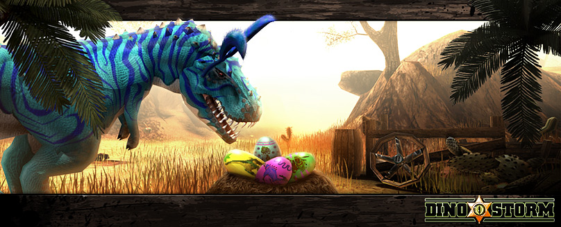 The Easter Bunny is coming to Dinoville! It is a little shy of all the huge dinosaurs roaming the streets, but it's taking its mission very seriously – brave little bunny! Update: 8× Egg Spoons […]
