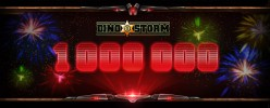 Dino Storm has crossed the 1 million mark in registrations – Thank You all for making this possible! Get Your Free Celebratory Top Hat on our Facebook Page Visit facebook.com/dinostorm and find the free top hat...