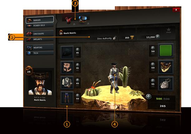 Dino Storm – Profil postaci