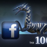 Dino Storm - 100,000 Likes on Facebook