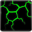 Dinosaur Skin Art – Lava Green Black