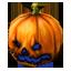 Halloween Pumpkin Hat (blue)