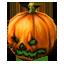 Halloween Pumpkin Hat (green)