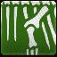 Skeleton Dinosaur Skin Art (green)