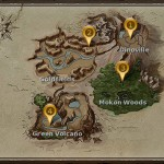 Easter in Dino Storm – World Map