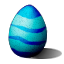 Easter in Dino Storm – Cyan Easter Egg