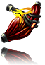Claws implant for dinosaurs