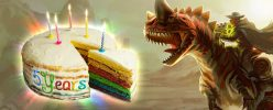 WE ARE CELEBRATING FIVE YEARS OF DINO STORM ★★★★★ On February 28th 2012, Dino Storm entered Closed Beta! This meant that for the first time ever, people other than the developers themselves could test-drive our […]