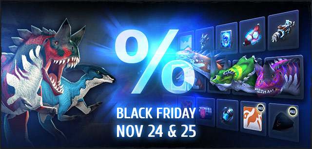 November 24 & 25*48 Hours of Flash Sales on Black Friday (and Saturday) *Starting midnight (server time). America servers: EST | Europe servers: CET | Asia server: CST___________________________Dinosaurs, guns, implants, tech modulesand much more will […]