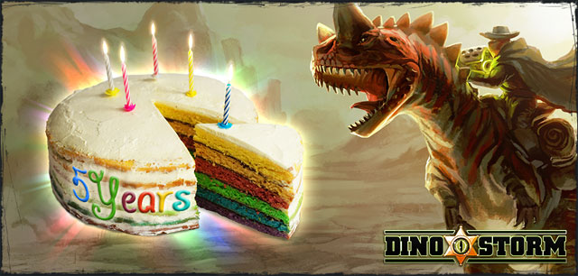 Unbelievable but true!WE ARE CELEBRATING FIVE YEARS OF DINO STORM ★★★★★On February 28th 2012, Dino Storm entered Closed Beta!This meant that for the first time ever, people other than the developers themselves could test-drive our […]