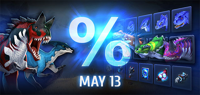 May 13May 13 Flash Sales will be running all of Saturday*!Don't miss our May 13 Flash Sales running all day!Baby and grown-up dinosaurs, guns, implants, tech and more at low prices!*Starting midnight (server time). America […]