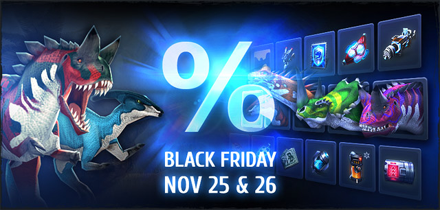 November 25 & 26*48 Hours of Flash Sales on Black Friday! For the first time ever,dinosaurs, guns, implants and tech moduleswill be offered at reduced prices!*Starting midnight (server time). America servers: EST | Europe servers: […]